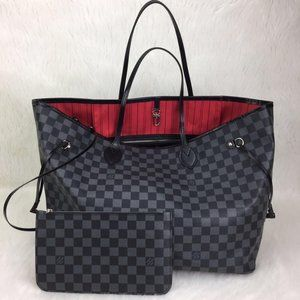 Louis Vuitton Neverfull GM %100 genuine leather